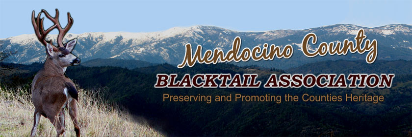 Mendocino County Blacktail Association Logo
